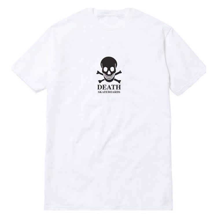 Death Skateboards OG Skull T-Shirt White