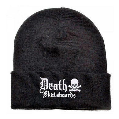 Death Skateboards Old English Beanie Black