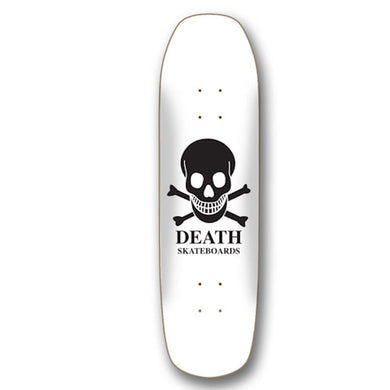 Death Skateboards OG Skull Pool Shape Skateboard Deck 9