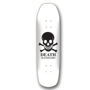 Death Skateboards OG Skull Pool Shape Skateboard Deck 9""