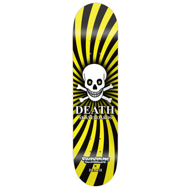 Death Skateboards X Flavour (25 Year Anniversary) Skateboard Deck 8.25