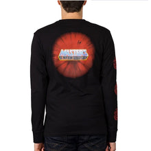 Element Masters Of The Universe He-Man Long Sleeve T-Shirt Black