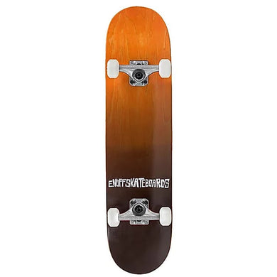 Enuff Skateboards Orange Fade Complete Skateboard 7.75