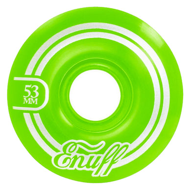 Enuff Skateboards Refresher 2 Green Skateboard Wheels 55d 53mm