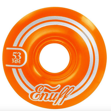 Enuff Skateboards Refresher 2 Orange Skateboard Wheels 55d 53mm