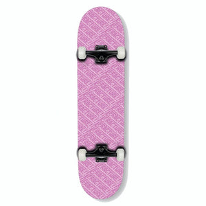 Fracture Skateboards All Over Comic Pink Complete Skateboard 7.75""