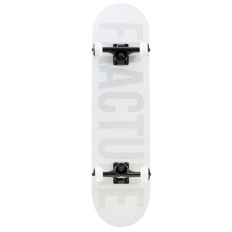 Fracture Skateboards Fade White Complete Skateboard 8