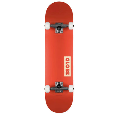Globe Goodstock Red Complete Skateboard 7.75