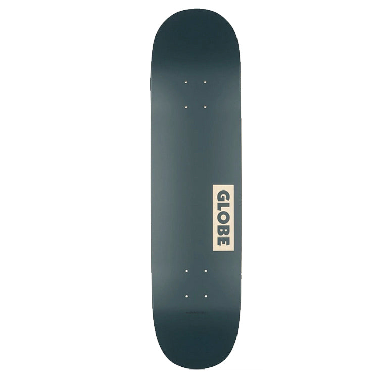 Globe Goodstock Skateboard Deck Navy 7.82