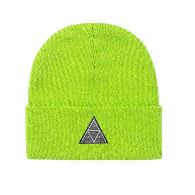 HUF Triple Triangle Beanie Bio Lime