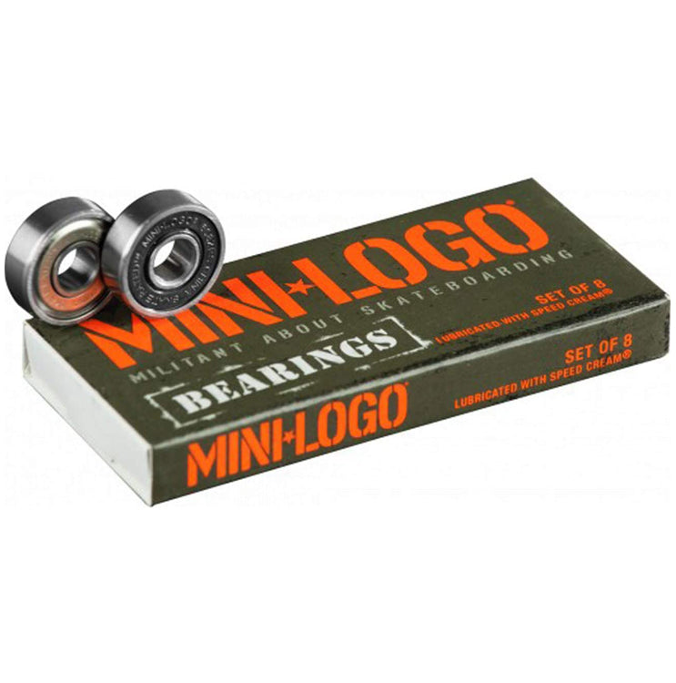 Mini Logo Bearings (Pack of 8)
