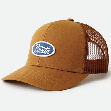 Brixton Parsons Crossover MP Meshback Snapback Cap Copper