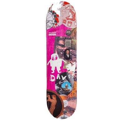 Numbers Edition x Soulland Kyron Davis Edition 7 Skateboard Deck 8.28