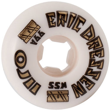 OJ Wheels Eric Dressen OJ2 Gold Elite Hardline Skateboard Wheels 99a 55mm