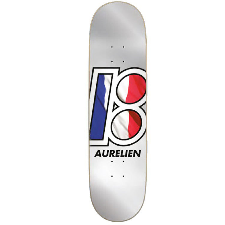 Plan B Aurelien Global Skateboard Deck 8