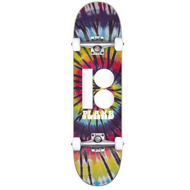 Plan B Team Spiral Complete Skateboard 7.75