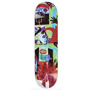 Polar Skate Co Paul Grund Moth House Skateboard Deck 8.5""