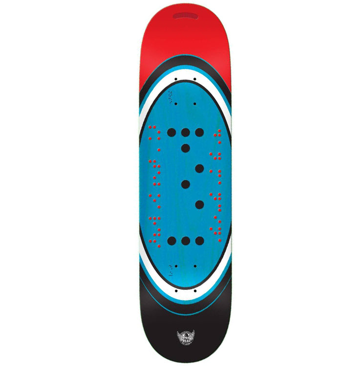 Real Skateboards Braille Actions Realized Skateboard Deck 8.25