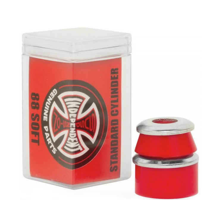 Independent Truck Co Standard Cylinder Soft 88a Red Bushings