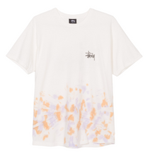 Stussy Basic Logo Tie Dye S/S T-Shirt Natural / Orange