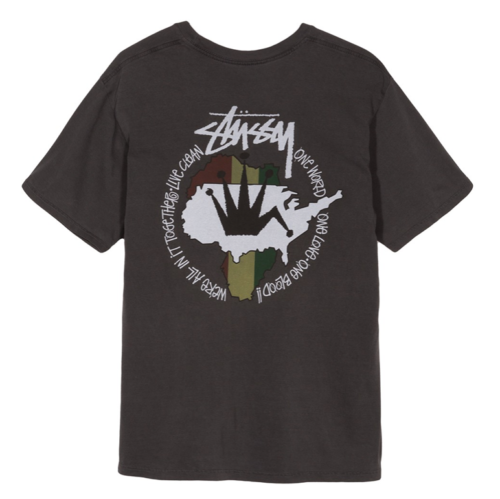 Stussy Live Clean Pigment Dyed T-Shirt Black
