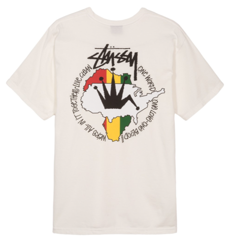 Stussy Live Clean Pigment Dyed T-Shirt Natural