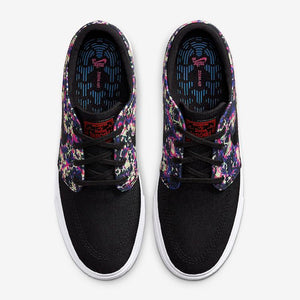 Nike SB Zoom Janoski Remastered Premium Black/Black/Laser Crimson/Black Shoes