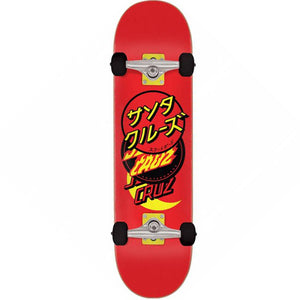 Santa Cruz Skateboards Group Dot Complete Skateboard 8""