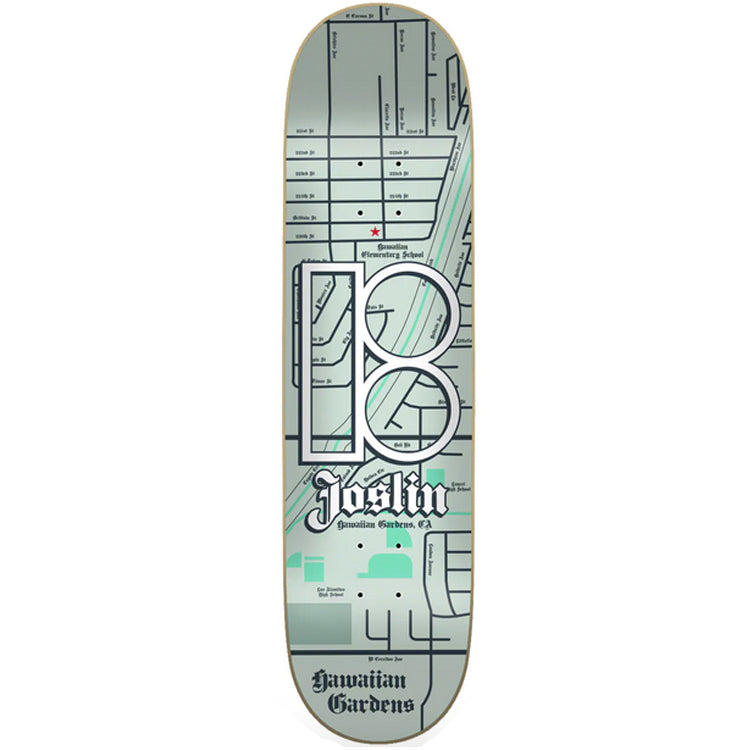 Plan B Joslin Neighbours Skateboard Deck 8.5
