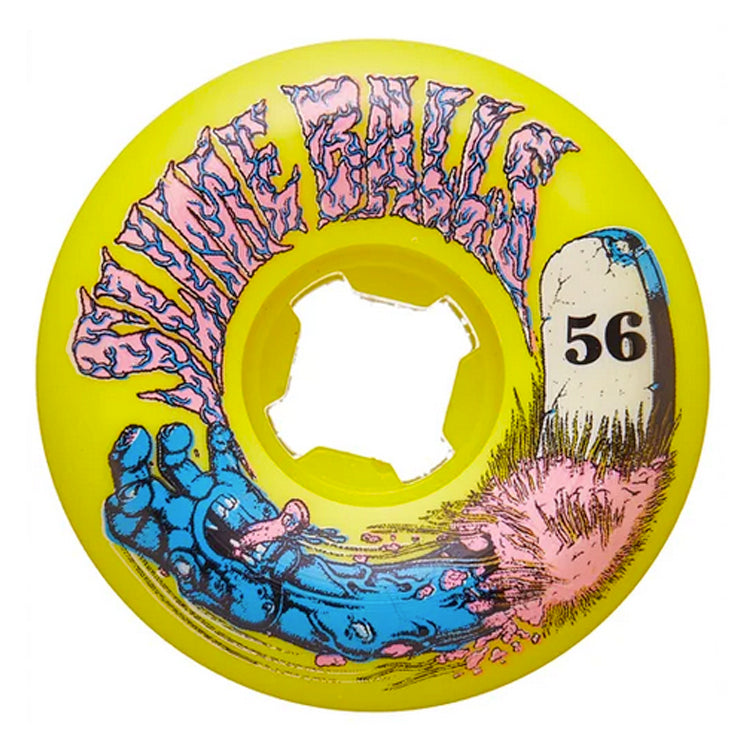 Slime Ball Wheels Grave Hand Speed Balls Skateboard Wheels 98a 56mm