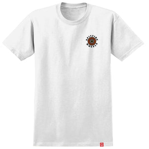 Spitfire Wheels OG Classic Fill T-Shirt White/Yellow/Orange/Red