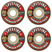 Spitfire Wheels Formula Four Classic Skateboard Wheels 101a 56mm