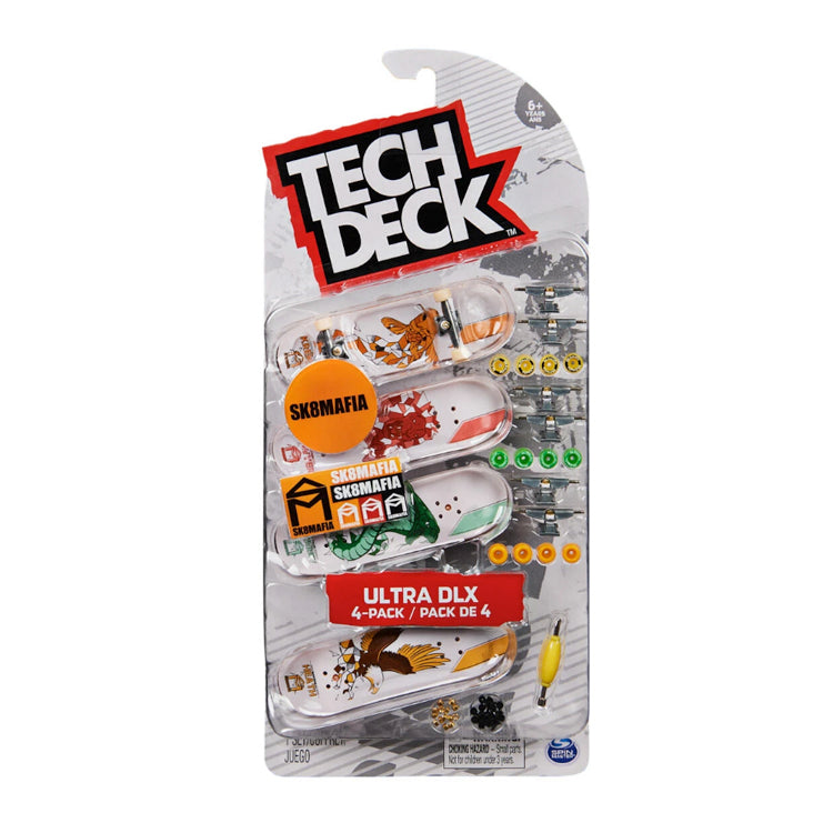 Tech Deck Ultra DLX 4 Skateboard Pack - SK8Mafia