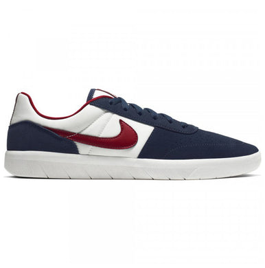 Nike SB Team Classic Obsidian/Team Red/Summit White Shoes