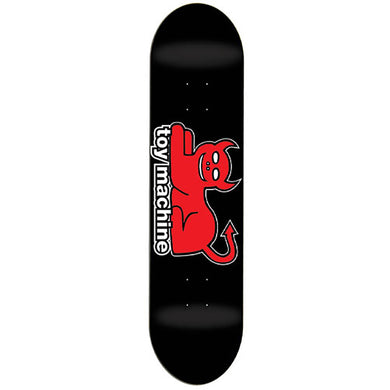 Toy Machine Devil Cat Skateboard Deck 7.625