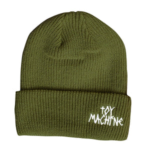 Toy Machine Tape Logo Beanie Army