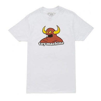 Toy Machine Monster White T-Shirt