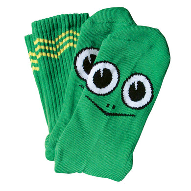 Toy Machine Turtle Boy Socks Green