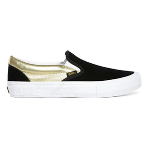 Vans X Shake Junt Slip-On Pro Black/Gold Shoes