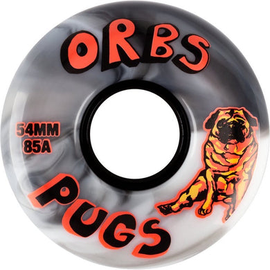 Orb Wheels Pugs Skateboard Wheels 85a 54mm