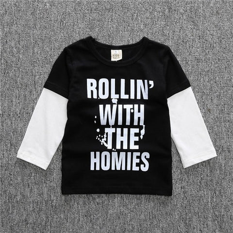 Rolling With a the Homies T-shirt
