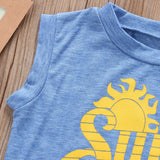 Sun's Out Guns Out Kids Baby Boys Toddler T-Shirts