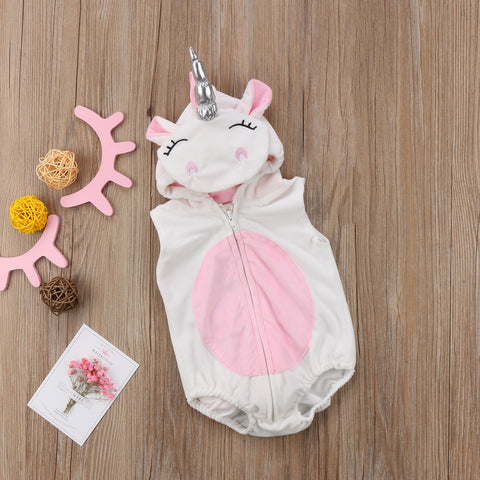 Infant Newborn Toddler Unicorn Costume