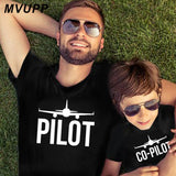 PILOT and CO-PILOT MATCHING TSHIRT
