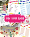 Baby Shower Bundle SVG Files and Printables