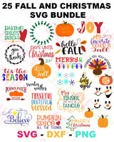 CHRISTMAS AND FALL BUNDLE AND SAVE