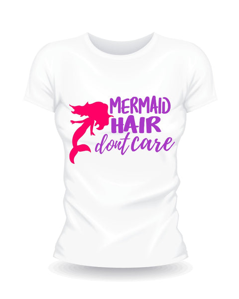 Mermaid Hair Don't Care SVG File