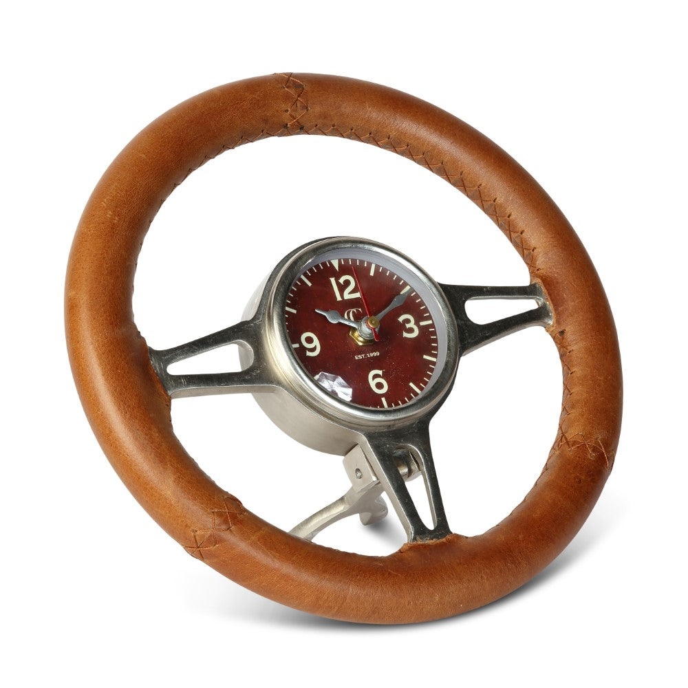 Classic Steering Wheel Clock