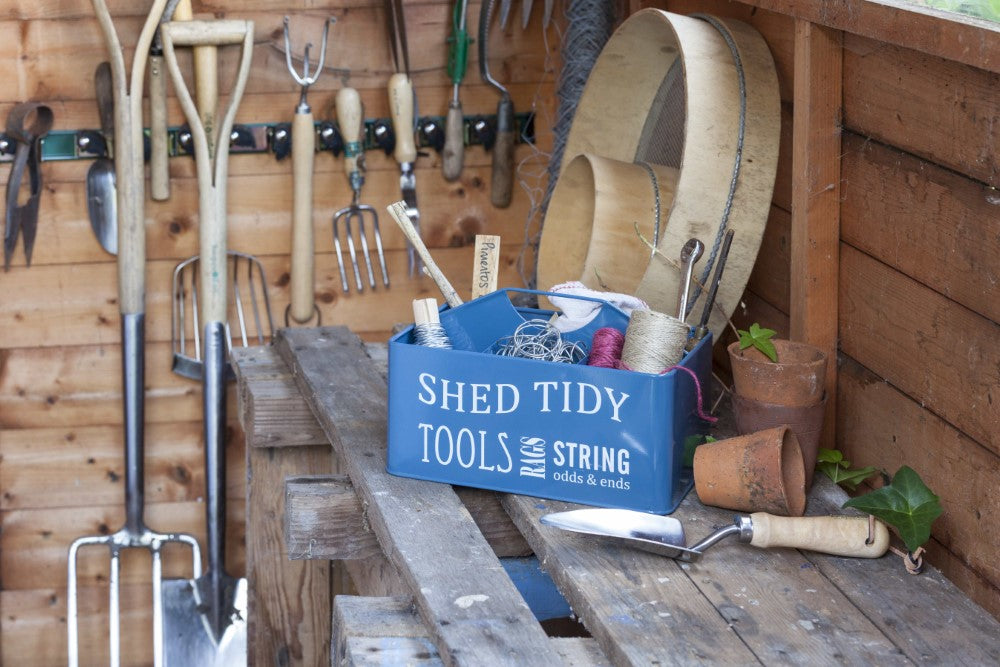 Shed Tidy - Blue