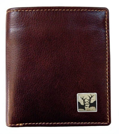 Leather Wallet - Stag